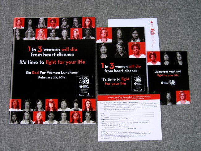 American Heart Association Go Red for Women Luncheon 2014