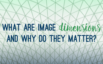 What are image dimensions and why do they matter?