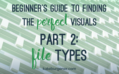 Beginner's Guide to Finding the Perfect Visuals – Part 2: File Types