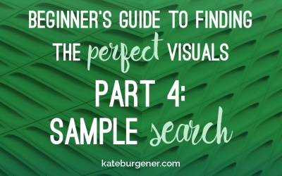 Beginner's Guide to Finding the Perfect Visuals – Part 4: Sample Search